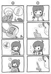 chibi child comic kaito monochrome o_o scarf shimota silent_comic smile translated vocaloid young rating:Safe score:0 user:Gelbooru