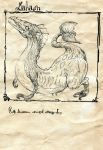 comic dragon monochrome original silent_comic toi_(number8) traditional_media rating:Safe score:0 user:danbooru