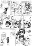 comic dos_(artist) hakurei_reimu hard_translated monochrome touhou translated yukkuri_shiteitte_ne rating:Safe score:1 user:danbooru