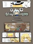 ... ? blonde_hair bloomers closed_eyes comic eyebrows eyes_closed flask hat kirisame_marisa morichika_rinnosuke nuime photo_(object) picture silver_hair thick_eyebrows touhou translated translation_request witch witch_hat wrist_cuffs yellow_eyes rating:Safe score:0 user:danbooru