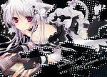 cat_ears gloves ichiyou_moka original purple_eyes silver_hair solo  rating:safe score: user:gelbooru