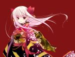 japanese_clothes kimono long_hair pink_hair princess_of_vampire princess_of_vampire_(character) ribbons