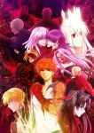 archer crown dark_excalibur dark_sakura dress_of_heaven emiya_shirou fate/stay_night fate_(series) gilgamesh great_grail illyasviel_von_einzbern kotomine_kirei matou_sakura matou_zouken purple_hair red_eyes redhead rider saber saber_alter toosaka_rin uka_(color_noise) white_hair