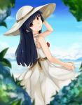 1girl black_hair gokou_ruri hat long_hair ore_no_imouto_ga_konna_ni_kawaii_wake_ga_nai solo violet_eyes
