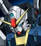 close-up gundam gundam_mk_ii mecha no_humans noah_noah solo zeta_gundam