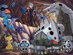 1boy aggron aron beldum cave lairon mawile nosepass pokemoa pokemon pokemon_(creature) pokemon_(game) pokemon_rse sableye tsuwabuki_daigo zubat