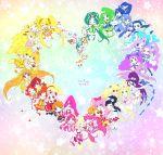 2013 6+girls akimoto_komachi aoki_reika aono_miki blonde_hair blue_hair candy_(smile_precure!) chiffon_(fresh_precure!) choppy chypre_(heartcatch_precure!) coco_(precure_5) coffret_(heartcatch_precure!) color_connection copyright_name cure_aqua cure_beat cure_beauty cure_berry cure_black cure_bloom cure_blossom cure_bright cure_dream cure_echo cure_egret cure_happy cure_lemonade cure_march cure_marine cure_melody cure_mint cure_moonlight cure_muse_(yellow) cure_passion cure_peace cure_peach cure_pine cure_rhythm cure_rouge cure_sunny cure_sunshine cure_white cure_windy everyone flappy foop fresh_precure! futari_wa_precure futari_wa_precure_max_heart futari_wa_precure_splash_star green_hair hanasaki_tsubomi heartcatch_precure! higashi_setsuna hino_akane hoshizora_miyuki houjou_hibiki hummy_(suite_precure) hyuuga_saki kasugano_urara kiryuu_kaoru kiryuu_michiru kise_yayoi kujou_hikari kurokawa_eren kurumi_erika lulun mepple midorikawa_nao milky_rose mimino_kurumi minamino_kanade minazuki_karen mipple mishou_mai misumi_nagisa momozono_love moop multiple_girls myoudouin_itsuki natsuki_rin nuts_(precure_5) pink_hair porun potpourri_(heartcatch_precure!) precure precure_all_stars purple_hair redhead sakagami_ayumi sasaki03 shiny_luminous shirabe_ako smile_precure! sparkle star suite_precure syrup_(precure_5) tart_(fresh_precure!) tsukikage_yuri yamabuki_inori yes!_precure_5 yes!_precure_5_gogo! yukishiro_honoka yumehara_nozomi