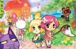 $ 1other 2boys 3girls animal_crossing animal_crossing:_new_leaf animal_crossing_wild_world animal_ears ayashii_neko balloon blanca_(animal_crossing) bob_(animal_crossing) cat cat_ears cat_tail clouds dog dog_ears dog_tail doubutsu_no_mori doubutsu_no_mori_e+ dress flower grass heart house human isabelle_(animal_crosing) katie_(animal_crossing) lavender-ice maiko-chan marker musical_note net nikoban_(doubutsu_no_mori) nintendo nintendo_ead no_face oideyo!_doubutsu_no_mori pink_hair river shizue_(doubutsu_no_mori) skirt sky tagme tail tanuki tanukichi_(doubutsu_no_mori) tobidase:_doubutsu_no_mori tom_nook villager_(doubutsu_no_mori)