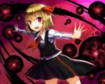 1girl blonde_hair gia red_eyes rumia short_hair solo touhou