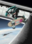 2001_a_space_odyssey airplane earth figma hatsune_miku pan_american_world_airways rxjx skateboard space space_craft space_station vocaloid xb-70