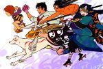 aotsuki_ushio apothecary beast_spear crossover dororo_(dororo_to_hyakkimaru) dororo_(tezuka) dororo_to_hyakkimaru gegege_no_kitarou hyakkimaru hyakkimaru_(character) jigoku_sensei_nube kitarou kusuriuri_(mononoke) mononoke nueno_meisuke okami polearm spear ushi_to_tora ushio_to_tora weapon yuzuka_(artist)
