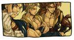 character_request dragon_ball_gt dragon_ball_z dragonball gloves gogeta male muscle nitako ssj4_gogeta super_saiyan tail vegetto