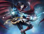 1boy black_hair boots cape doctor_strange gloves magic marvel marvel_vs._capcom marvel_vs._capcom_3 rokuro_(ryvius) solo