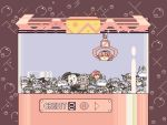 character_request crane_game doll houraisan_kaguya kirby's_adventure kirby_(series) kirisame_marisa komeiji_satori parody pixel_art remilia_scarlet sukusuku_hakutaku tagme touhou yukkuri_shiteitte_ne