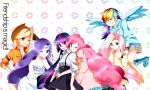 6+girls applejack blonde_hair cutie_mark fluttershy friends multiple_girls my_little_pony my_little_pony_friendship_is_magic personification pink_hair pinkie_pie purple_hair rainbow_dash rainbow_hair rarity twilight_sparkle