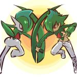 androgynous costume gallade hitec jpeg_artifacts male moemon personification pokemon pokemon_(creature) pokemon_(game) pokemon_dppt source_request