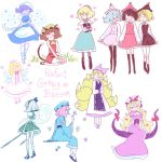6+girls alice_margatroid animal_ears ankle_socks apron bangs barefoot black_hair black_legwear blonde_hair blue_eyes blue_hair blunt_bangs blush bob_cut book boots bow breasts brown_hair butterfly capelet cat_ears cat_tail chen cleavage closed_eyes corset dress elbow_gloves fox_tail ghost gloves hair_bow hairband hands_in_lap hat heart highres hitodama holding holding_book holding_hands japanese_clothes juliet_sleeves katana kaymurph kitsune knee_boots kneehighs konpaku_youmu lavender_hair letty_whiterock lily_white long_dress long_hair long_sleeves lunasa_prismriver lyrica_prismriver mary_janes merlin_prismriver miniskirt multiple_girls multiple_tails nekomata pantyhose perfect_cherry_blossom pink_hair puffy_long_sleeves puffy_short_sleeves puffy_sleeves purple_hair ribbon saigyouji_yuyuko sandals seiza shoes short_hair short_sleeves silver_hair sitting skirt smile standing star sword tail touhou triangular_headpiece wavy_hair weapon white_legwear wide_sleeves wings yakumo_ran yakumo_yukari yellow_eyes