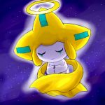 jirachi night pokemon sleep stars