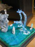absurdres broom cliff diorama dragon highres kawashiro_nitori kirisame_marisa photo rock showdown touhou water