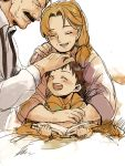 ^_^ book closed_eyes family father_and_son fullmetal_alchemist king_bradley mother_and_son mrs._bradley parent_and_child selim_bradley suzuki_hayase