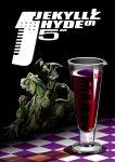 drink jojo_no_kimyou_na_bouken pannacotta_fugo purple_haze_(stand) stand_(jojo) tatsubuchi_(todoiru)