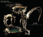2012 aliens black_background dated no_humans prometheus_(movie) tagme translation_request yanagi_yagiaji