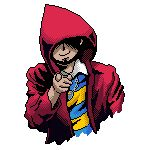 1guy eyeless lucas_flicky lucasflicky pixel_art pointing red_hood shadow striped_shirt uncle_sam we_want_you