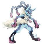 alternate_form lucario mega_lucario mega_pokemon no_humans pokemon pokemon_(creature) pokemon_(game) pokemon_xy red_eyes rex_k solo