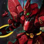 absurdres char's_counterattack funnels green_eyes gundam highres mecha sazabi weapon