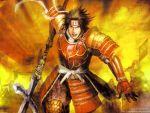 koei male samurai_warriors sanada_yukimura sengoku_musou shield warrior yukimura_sanada