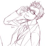 1boy armkreuz doctor_who glasses male tagme tenth_doctor