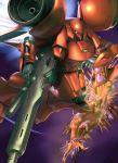 gerbera_tetra gun gundam gundam_0083 gwaden machine_gun mecha raybar space space_craft spaceship weapon