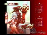 ai_(lost_child) amber_eyes armor calendar highres lost_child_(game) shouji_tokitou silver_hair