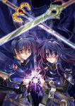 1boy 1girl armor blue_eyes blue_hair cape crossed_swords elbow_gloves fingerless_gloves fire_emblem fire_emblem:_kakusei fire_emblem:_monshou_no_nazo fire_emblem:_mystery_of_the_emblem fire_emblem:_shadow_dragon fire_emblem:_shin_ankoku_ryuu_to_hikari_no_tsurugi fire_emblem:_souen_no_kiseki fire_emblem:_the_sacred_stones fire_emblem_awakening gloves great_grandfather_and_great_granddaughter headband intelligent_systems long_hair lucina magic marth morozumi_(kaorin) nintendo open_mouth short_hair smile super_smash_bros. super_smash_bros._ultimate super_smash_bros_brawl super_smash_bros_for_wii_u_and_3ds sword tenage tiara weapon
