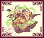 blonde_hair blue_eyes dress gradient_hair hairband halloween hat hijiri_byakuren kirisame_marisa long_hair multicolored_hair patchouli_knowledge pumpkin purple_eyes purple_hair rl short_hair touhou violet_eyes witch_hat yellow_eyes yukkuri_shiteitte_ne