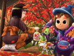 bellossom candy erika_(pokemon) gengar giratina gloom halloween mismagius pokemon shaymin