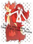 delphox poke_ball pokemon pokemon_(game) pokemon_xy serena_(pokemon) team_flare team_flare_(cosplay)