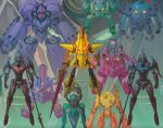 character_request highres king_kittan mecha no_humans official_art super_robot tengen_toppa_gurren_lagann yoshinari_you