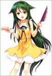 blood knife saya saya_no_uta smile very_long_hair