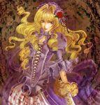 blood dress le_chevalier_d'eon le_chevalier_d'eon lia_de_beaumont long_hair siratama_anmitsu solo sword weapon