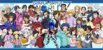 6+boys 6+girls :d ^_^ abigorbine aila_jyrkiainen allan_adams bag baker_(gundam_bf) bald bare_shoulders beanie beard beargguy_iii beginning_gundam black_hair blonde_hair blue_eyes blue_hair blush_stickers bowtie brothers brown_eyes brown_hair build_gundam_mk_ii chairman_mashita character_name closed_eyes coat command_gundam dark_skin dress drill_hair dual_persona elbow_gloves everyone facial_hair food formal gerbera_tetra glasses gloves gm_sniper_k9 gonda_monta gouf greco_logan green_eyes green_hair gundam gundam_amazing_exia gundam_build_fighters gundam_f91_imagine gundam_x_maoh gunpla gyan hairband hat highres holding hoodie hug hygogg iori_rinko iori_sei iori_takeshi jimauso julian_ayers_mackenzie julio_renato kampfer_amazing kirara_(gundam_bf) knight_gundam kousaka_china long_hair luang_dallara mario_renato master_chinnan master_gundam meijin_kawaguchi mihoshi_(gundam_bf) misaki_(gundam_bf) miss_sazabi multiple_boys multiple_girls mustache necktie nikuman nine_barthes open_mouth over-rim_glasses overalls paper_bag perfect_gundam pink_hair ponytail purple_hair qubeley_papillon rainer_cziommer ral-san redhead reiji_(gundam_bf) ricardo_fellini sazaki_susumu scarf semi-rimless_glasses sengoku_astray_gundam shield short_hair siblings smile star_build_strike_gundam suit sumo_(mobile_suit) sunglasses sunglasses_on_head sweatdrop sweater sweater_vest tallgeese_valkyrie trophy twins twintails under-rim_glasses vest white_hair yajima_caroline yasaka_mao yuuki_tatsuya_(gundam_bf) zaku_amazing