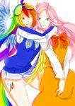 absurdres fluttershy highres kumo_ni_notte rainbow_dash