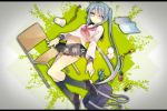 1girl bag book chair copyright_name haru_(oomr005) hatsune_miku kneehighs letterboxed long_hair school_uniform serafuku skirt solo twintails very_long_hair vocaloid