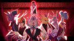 dr.k formal highres lapras nidoking omastar personification pidgeot poke_ball pokemon red_(pokemon) suit twitch_plays_pokemon venomoth zapdos