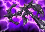 anchor antennae battle_7 battle_frontier cannon crossover energy energy_gun highres macross macross_7 macross_frontier macross_quarter mecha munojou_(steam_dragon) science_fiction shield space star_(sky) touhou weapon