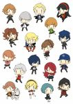 aegis ai-wa amada_ken amagi_yukiko androgynous aragaki_shinjirou arisato_minato black_eyes black_hair blonde_hair blue_eyes blue_hair blush bow brown_eyes brown_hair cabbie_hat chibi female_protagonist_(persona_3) gakuran grey_eyes grey_hair hair_over_one_eye hairband hanamura_yousuke hat headphones iori_junpei jacket kirijou_mitsuru koromaru kujikawa_rise kuma_(persona_4) long_hair multiple_boys multiple_girls narukami_yuu pantyhose persona persona_3 persona_4 red_eyes redhead reverse_trap ribbon sanada_akihiko satonaka_chie scar school_uniform shirogane_naoto short_hair skirt smile takeba_yukari tatsumi_kanji track_jacket twintails yamagishi_fuuka yuuki_makoto