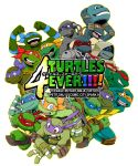 donatello leonardo michelangelo raphael sakan teenage_mutant_ninja_turtles