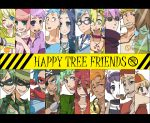bad_id black_hair blonde_hair blue_eyes blue_hair brown_eyes brown_hair column_lineup cro-marmot cub cuddles disco_bear everyone flaky flippy giggles green_eyes green_hair handy happy_tree_friends hat kurara lifty lumpy military military_uniform mime_(happy_tree_friends) nervous nutty personification petunia pop_(happy_tree_friends) purple_hair red_eyes red_hair russell_(happy_tree_friends) shifty sniffles splendid the_mole toothy uniform