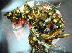 armor blade charging garo garo_(series) golden tagme