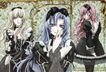 gothic_lolita kouno_tooru lolita_fashion male multiple_boys nakajima_atsuko princess_princess shihoudani_yuujirou trap yutaka_mikoto